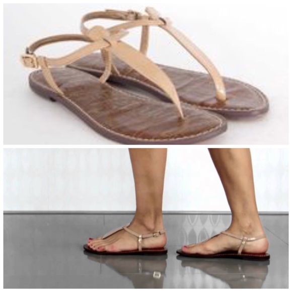 5657270db28b37 Sam Edelman Sandals Gigi Thongs Almond Shoes W 12.  M 5ade96893b1608ab3af4ab0c
